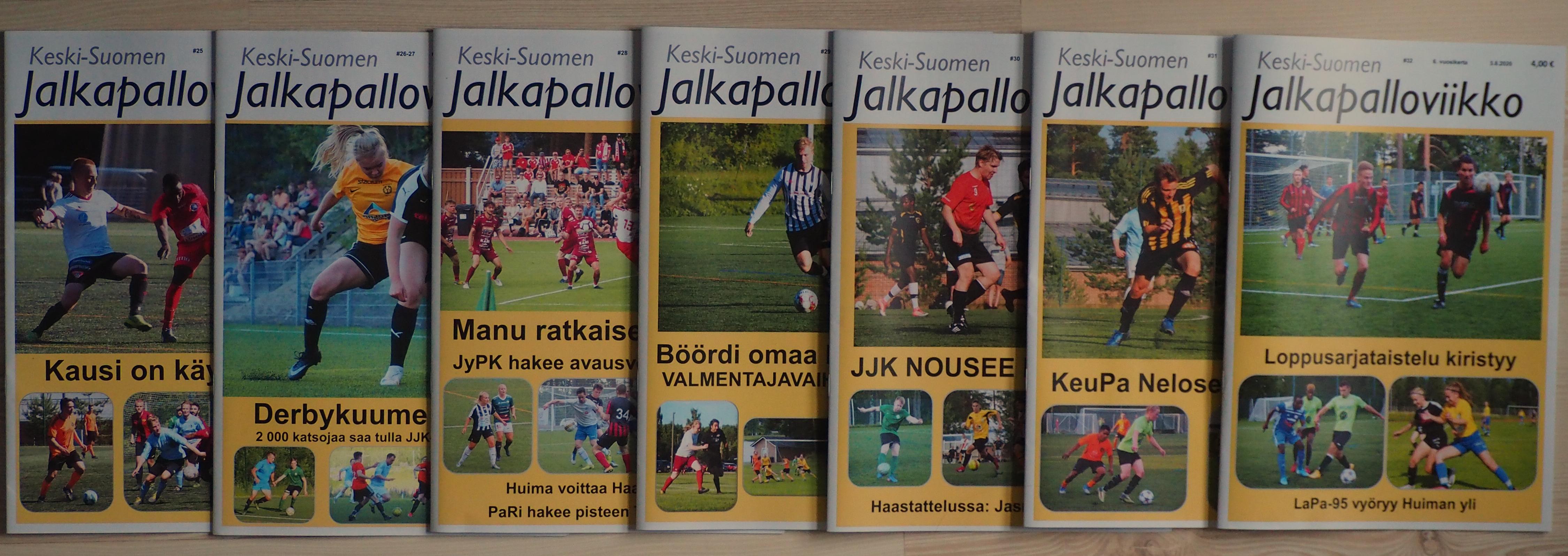 Keski-Suomen Jalkapalloviikko, kestotilaus