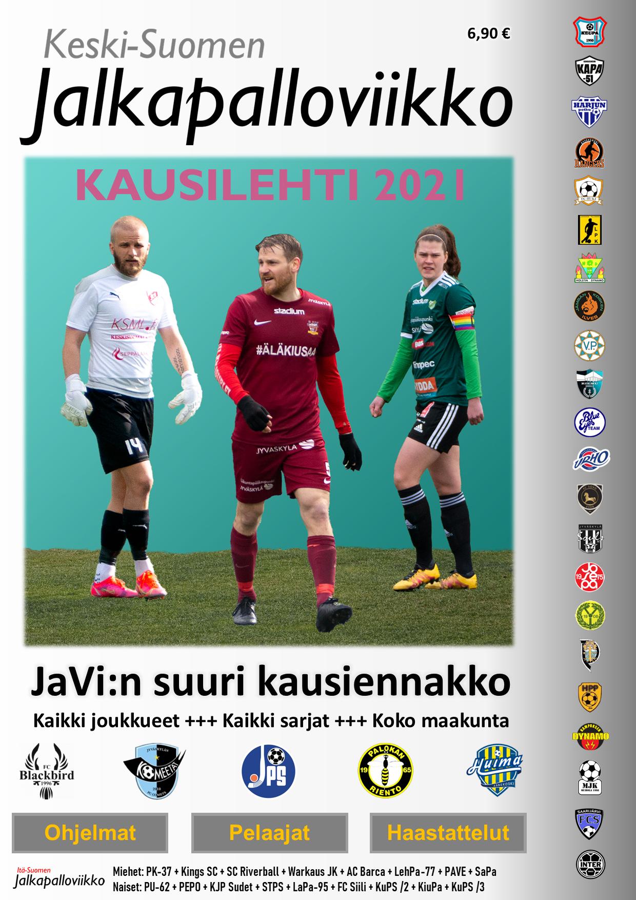Keski-Suomen JaVi:n Kausilehti 2021